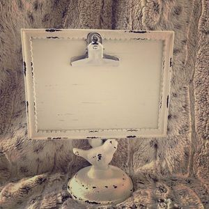 Rustic Bird Picture Frame sign holder